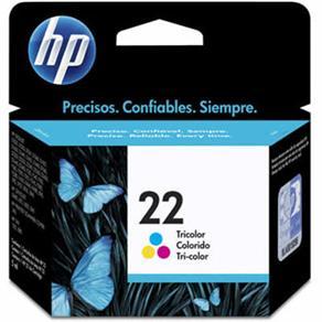 Cartucho de Tinta HP 22 Tricolor C9352AB 45297