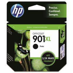 Cartucho de Tinta HP 901XL Preto CC654AL 15838 1