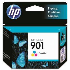 Cartucho de Tinta HP OfficeJet 901 Tricolor CC656AL B 45299