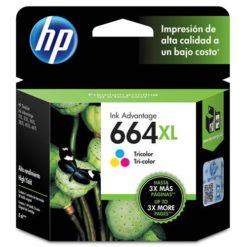 cartucho de tinta hp 664 xl alto rendimento colorido f6v30ab 5696031
